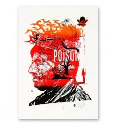 Sérigraphie Artisanale - Poison pirate