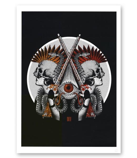 Sérigraphies/Affiches d'Artistes Indépendants
